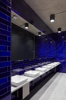 Dark blue tile