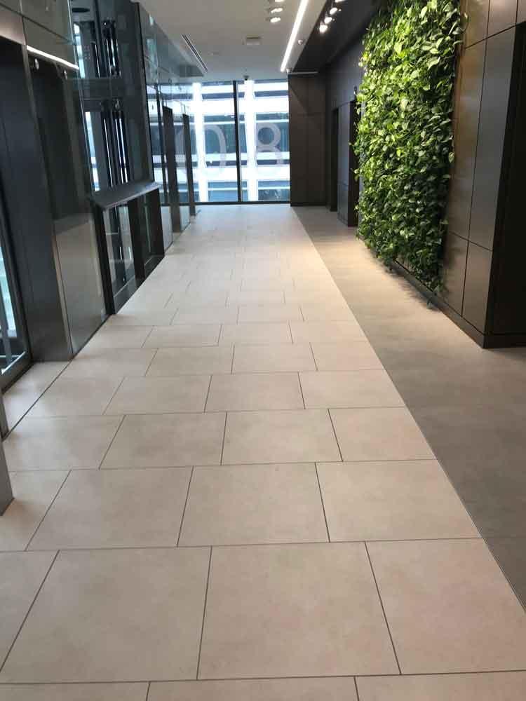 hsbc hq birmingham tiling