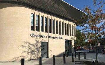 Gloucester Bus Station Tiling