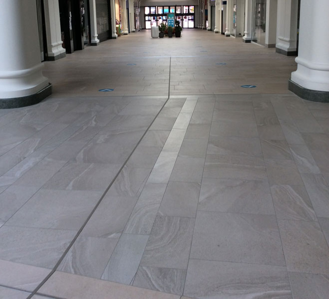 Royal Victoria Place Porcelain Tiling