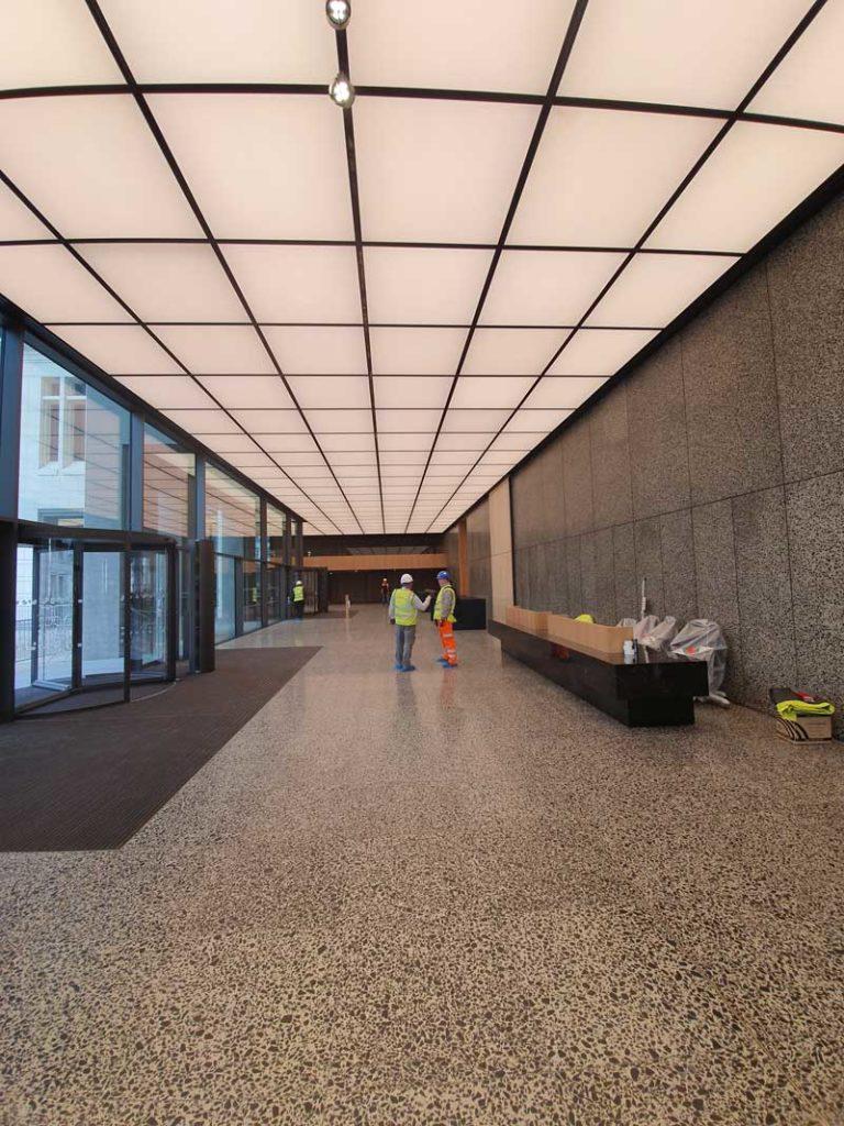 Terrazza Tiling, Cabot Square